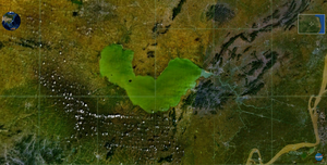 Chao Lake - Image: Chao Lake NASA