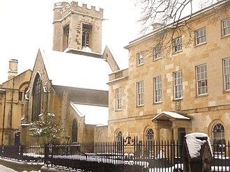 New Inn Hall Street - Image: Chapel and Lodge