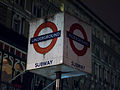 Charing Cross station sign (8385553842).jpg