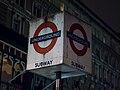 Charing Cross station sign (8385553842).jpg