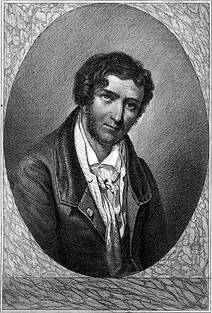Charles-Julien Lioult de Chênedollé - Engraving by Charles Devrits