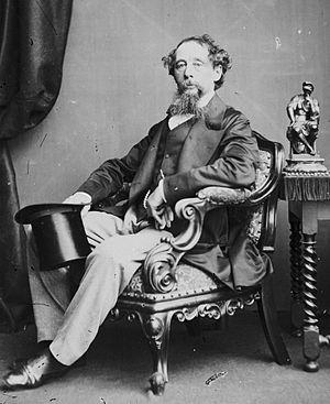 John Watkins (photographer) - Charles Dickens by John Watkins c 1860
