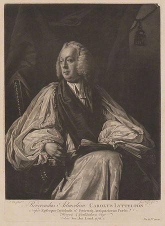 Charles Lyttelton (bishop) - Portrait of Charles Lyttleton