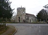 Charlton Marshall, parish church.JPG