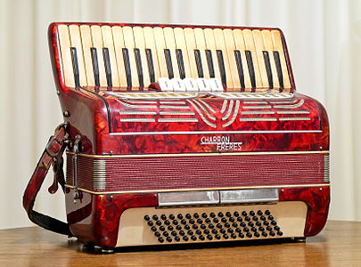 1950's Italian made Charron Freres Accordion