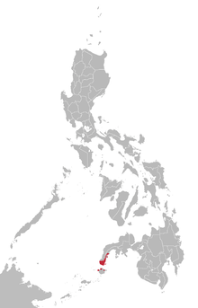Chavacano language map.png