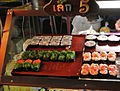 Cheap stand sushi in Hat Yai Thailand.JPG