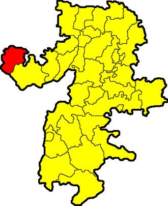 Ashinsky District - Image: Chelyabinskaya oblast Ashinsky rayon
