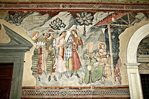 Chiesa San Francesco (Lucignano), Visita dei Magi