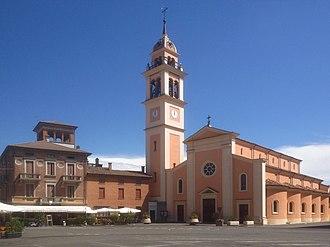 Carpaneto Piacentino - Image: Chiesa dei Santi Fermo e Rustico
