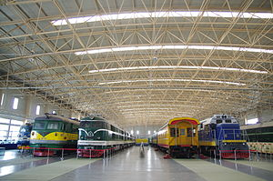 China Railway Museum - Inside the museum
