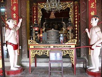 Lý Bát Đế Shrine - Image: Chinhdien 2
