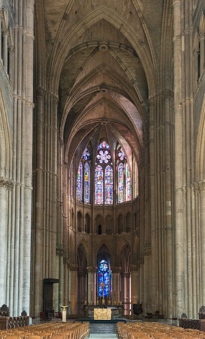 Gothic architecture - Choir, northeast end