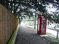 Cholderton, telephone box - geograph.org.uk - 1163701.jpg
