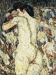 Christian Rohlfs - Liegender Frauenakt (1911).jpg