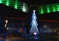 Christmas tree at Osaka Aquarium Kaiyukan.jpg