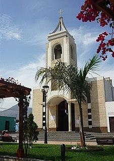 Pativilca Town in Lima, Peru