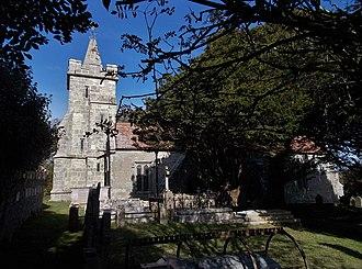 Church of St John the Baptist, Niton - Image: Church of St John the Baptist, Niton, Isle of Wight, UK