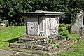 Church of St Mary the Virgin, Woodnesborough, Kent - churchyard table tomb 02.jpg