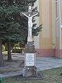 Church of the Assumption, crucifix, 2017 Dabas.jpg