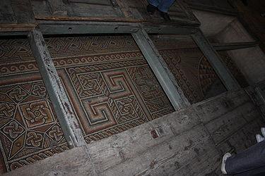 Church of the Nativity mosaic floor 2010 6.jpg