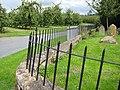 Churchyard fence, St. Margaret's, Corse - geograph.org.uk - 931616.jpg