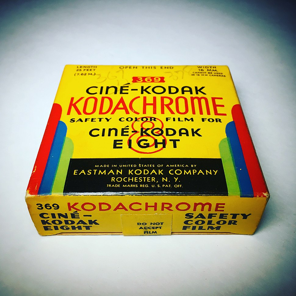 Ciné-Kodak Kodachrome 8mm movie film expired May1946