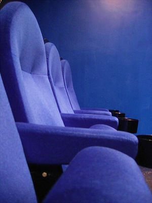 Cinema seats.