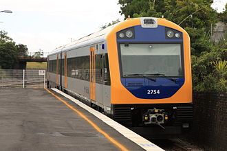 Hunter Line - Image: City Rail Hunter Railcar 2754