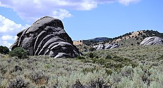 The City of Rocks National Reserve, also known as the Silent City of Rocks, is a United States National Reserve and state park