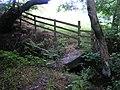 Clapper bridge, Bradley in the Moors - geograph.org.uk - 230672.jpg
