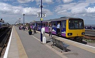 Northern Rail (Serco-Abellio) - Image: Cleethorpes railway station MMB 01 144006