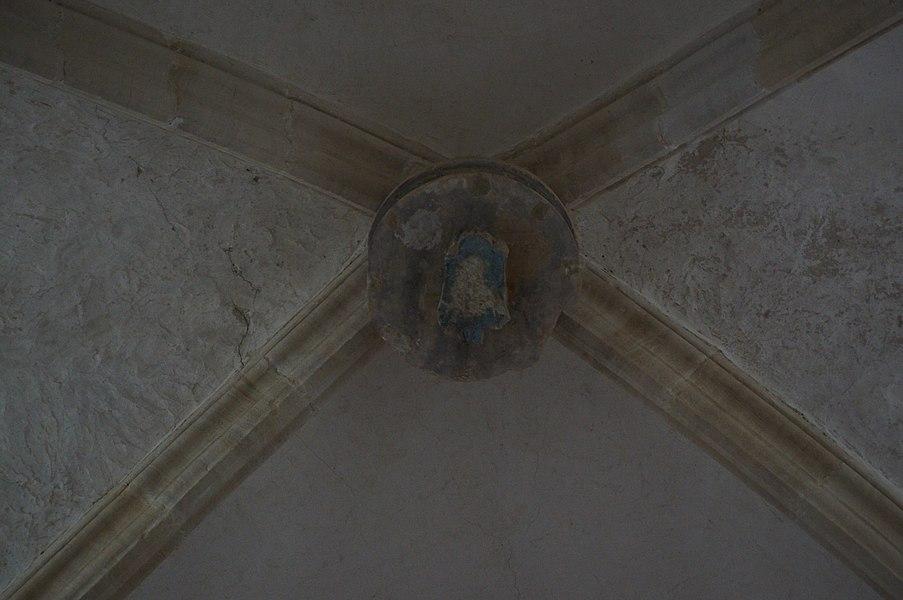 Clef de voûte Église Saint-Pierre de Vesly