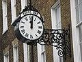 Clock on an office in John Street, WC1 - geograph.org.uk - 1237251.jpg