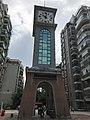 Clocktower in Kuntaimingju District in Huangzhou, Huanggang, Hubei.jpg