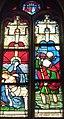 Clohars-Fouesnant 016 Eglise Vitrail XVIe Descente de Croix et saint Christophe.JPG