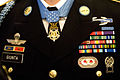 Close up of Salvatore Giunta's uniform with medals and badges.jpg