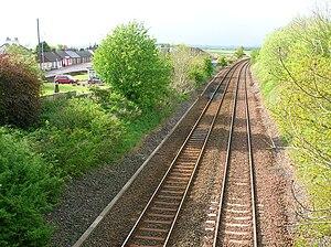 Closeburn railway station - Image: Closeburn Station