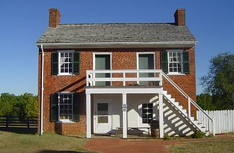 Clover Hill Tavern - Guest house and kitchen