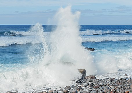 Coast at São Vicente, Madeira, Portugal