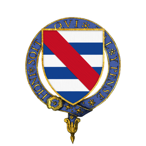 John de Grey, 2nd Baron Grey de Rotherfield - Arms of Sir John de Grey, KG