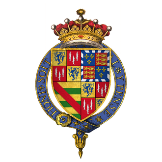 Henry Percy, 6th Earl of Northumberland - Arms of Sir Henry Percy, 6th Earl of Northumberland, KG