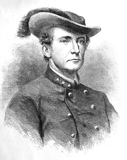 Col. John S. Mosby, wood engraving 1867[1] - 43rd Battalion, Virginia Cavalry