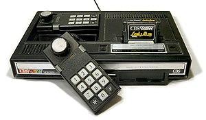 "A ""CBS ColecoVision"" unit"