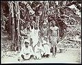 Collectie Nationaal Museum van Wereldculturen TM-60062255 Groepsfoto van contractarbeiders bij bananenbomen Jamaica A. Duperly & Sons (Fotostudio).jpg