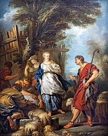 Collection Motais de Narbonne - Jacob et Rachel au puits (1720) - François Lemoyne (71).jpg