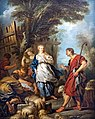 Collection Motais de Narbonne - Jacob et Rachel au puits (1720) - François Lemoyne (71).jpg