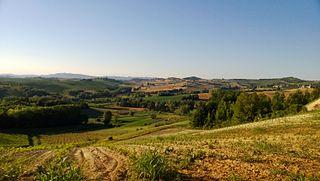 Portacomaro Comune in Piedmont, Italy