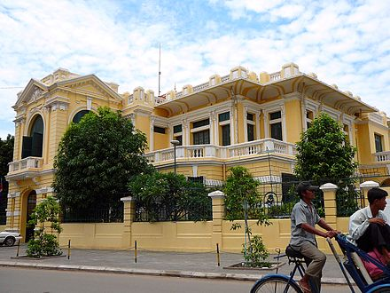 Colonial  Villa on  Street 108  Phnom  Penh