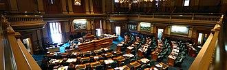 Colorado House of Representatives - Image: Colorado State Capitol House Of Representatives gobeirne